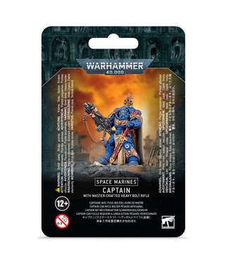Warhammer 40.000 Captain with Master-crafted Heavy Bolt Rifle
