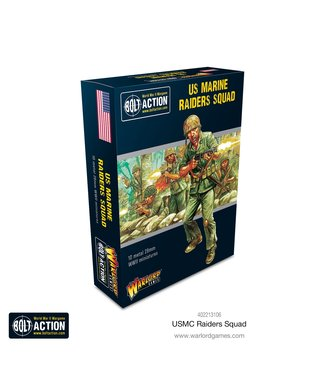 Bolt Action Pre-order: USMC Raider Squad