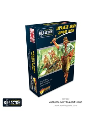 Bolt Action Pre-order: Japanese Support Group