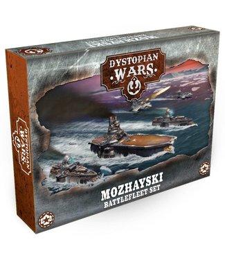 Dystopian Wars Mozhayski Battlefleet Set