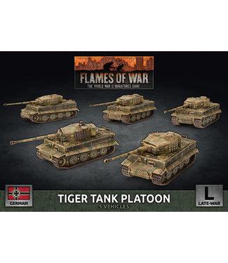 Flames of War Tiger Heavy Tank Platoon (Plastic)