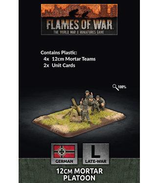 Flames of War 12cm Mortar Platoon (Plastic)