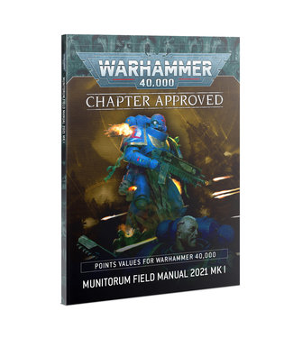 Warhammer 40.000 Chapter Approved: Grand Tournament 2021 Mission Pack and Munitorum Field Manual 2021 MkII