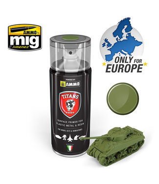 Ammo Titans Hobby Military Green Matt Primer