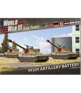 World War III Team Yankee M109 Field Artillery Battery (Plastic)