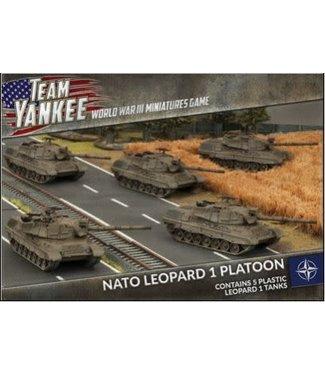World War III Team Yankee NATO Leopard 1 Tank Platoon (x5 Plastic)