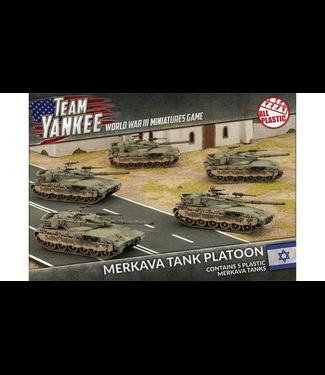 World War III Team Yankee Merkava Tank Platoon