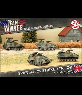 World War III Team Yankee Spartan or Striker Troop