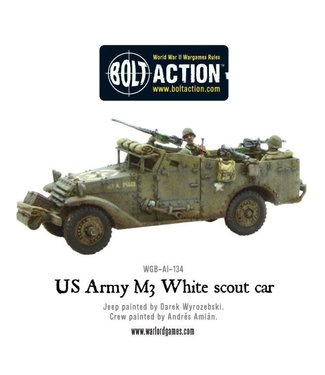 Bolt Action M3 White scout car
