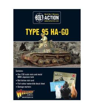Bolt Action Japanese Type 95 Ha-Go light tank