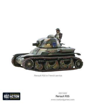 Bolt Action Renault R35 Tank Box Set