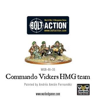 Bolt Action British Commando Vickers MMG Team