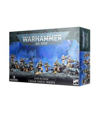 Warhammer 40.000 Cadian Shock Troops (new)