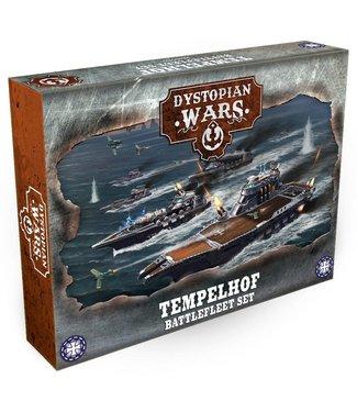 Dystopian Wars Tempelhof Battlefleet Set