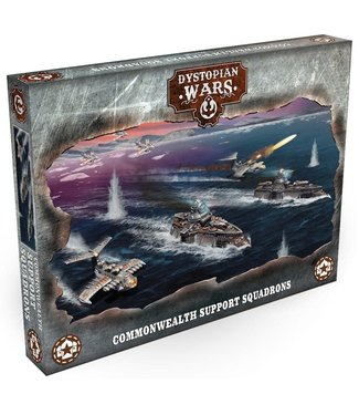 Dystopian Wars Pre-order: Commonwealth Support Squadrons