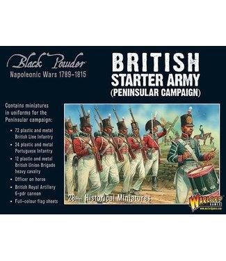 Black Powder Napoleonic British starter army (Peninsular campaign)