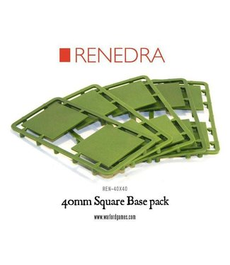 Warlord Games 40mm Square Base pack
