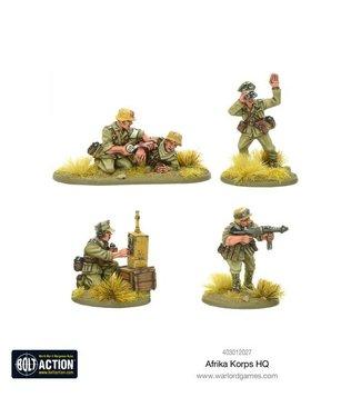 Bolt Action Afrika Korps HQ