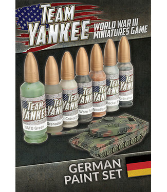 World War III Team Yankee Team Yankee German Paint Set