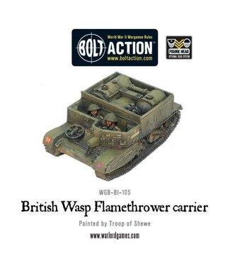 Bolt Action British Wasp Flamethrower carrier