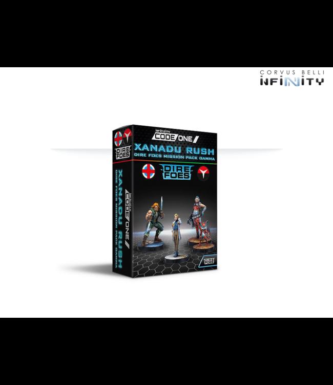 Infinity Pre-order: Dire Foes Mission Pack Gamma: Xanadu Rush