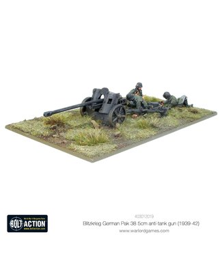 Bolt Action Blitzkrieg German Pak 38 5cm anti-tank gun (1941-42)