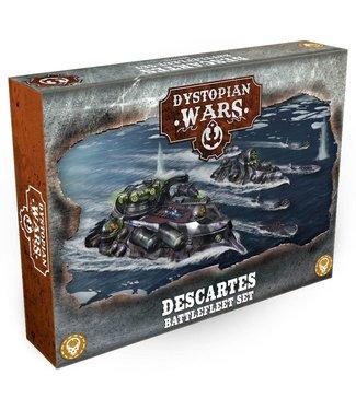 Dystopian Wars Descartes Battlefleet Set