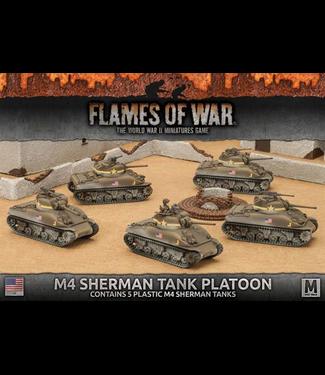 Flames of War M4 Sherman Tank Platoon