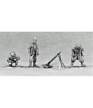 Empress Miniatures Late War British Mortar Team (LB12)