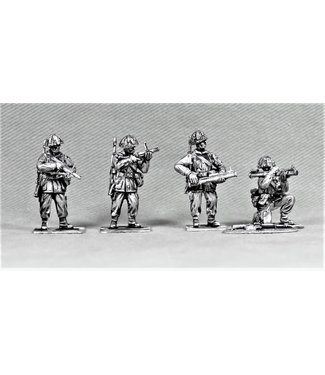 Empress Miniatures British Infantry with LAWS and Grenade Launchers (BAOR14)
