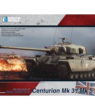Rubicon Models Pre-order: Centurion MBT Mk 3 / Mk 5