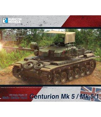Rubicon Models Pre-order: Centurion MBT Mk 5 / Mk 5/1 (FV4011)