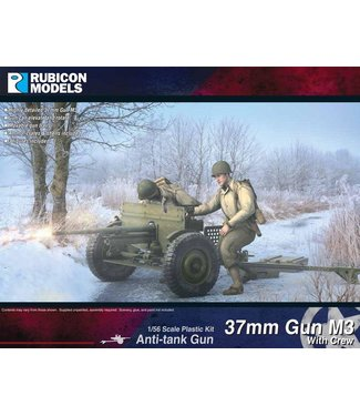 Rubicon Models M3 37mm AT Gun with Crew