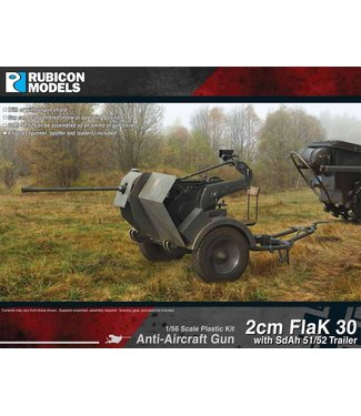 Rubicon Models 2cm FlaK 30 with SdAh 51/52
