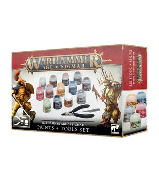 Age of Sigmar Age of Sigmar: Paint + Tools Set