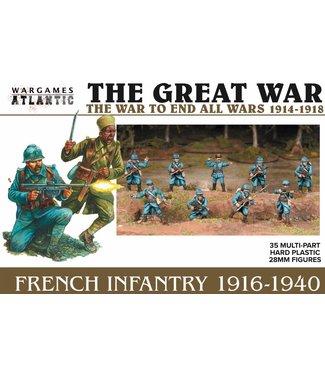 Wargames Atlantic Pre-order: French Infantry (1916-1940)