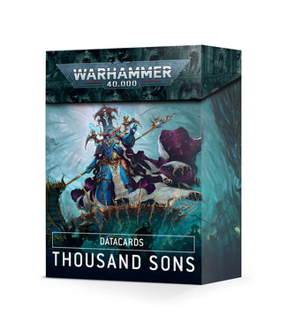 Warhammer 40.000 Datacards: Thousand Sons