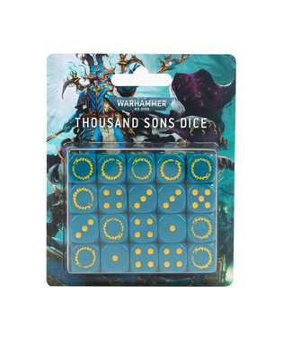Warhammer 40.000 Thousand Sons Dice