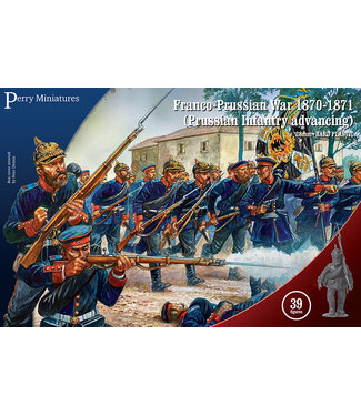 Perry Miniatures Prussian Infantry advancing