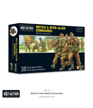 Bolt Action British & Inter-Allied Commandos