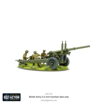 Bolt Action British Army 5.5 inch Howitzer (Late War)