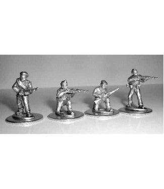 Empress Miniatures Militia Rifles Firing/Loading (MIL2)