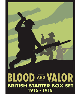 Blood & Valor WWI British Army Starter Box 1916-'18