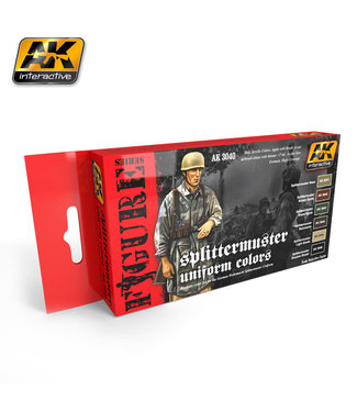 AK interactive Splittermuster Uniform Colors