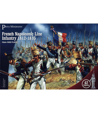 Perry Miniatures French Napoleonic Infantry 1812-15