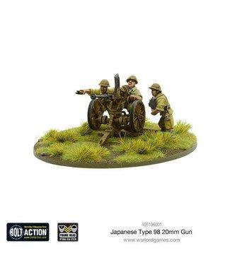 Bolt Action Japanese Type 98 20mm Gun