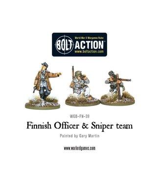 Bolt Action Finnish Officer & Sniper team