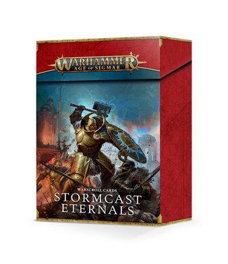 Age of Sigmar Warscroll Cards: Stormcast Eternals