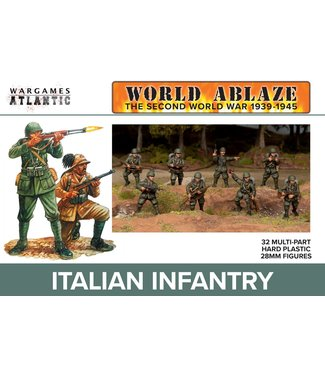 Wargames Atlantic PRE-ORDER: Italian Infantry