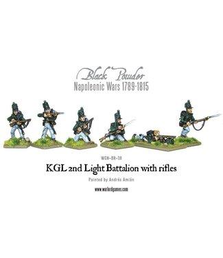 Black Powder KGL 2nd Light Battalion with rifles